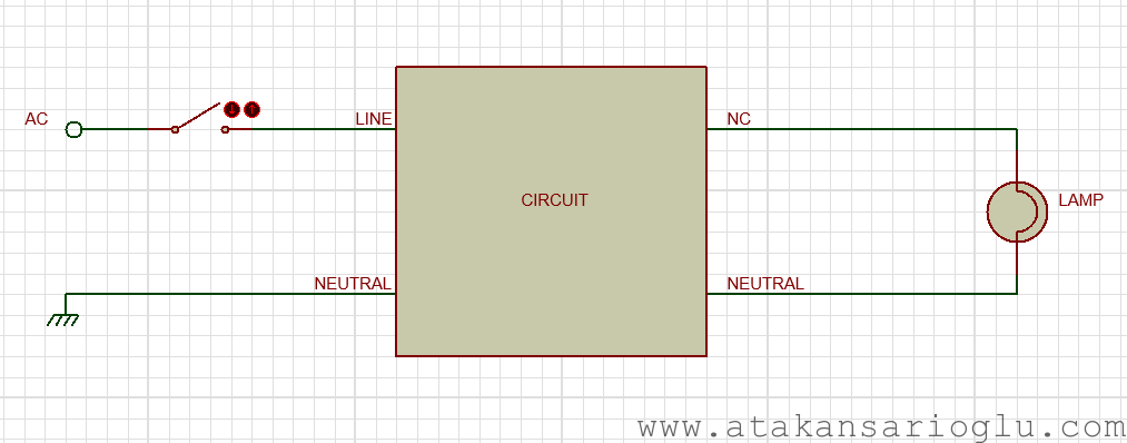 lamp electrical connection